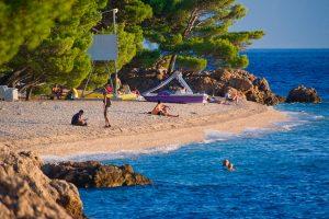 Beach Punta Rata, Brela _2CB1777 BRELA x